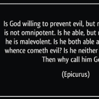 Is There a Response to the Epicurus Dilemma?