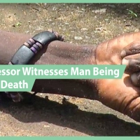 Atheist Professor, Bruce Grindal, witnesses man raised from the dead.