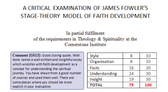 """james fowler faith development stages In response to james fowler's """"stages of faith"""", i have to agree with a majority of these stages with assumption that there are no social, physical or mental deficiencies, his stages are appropriate with life development."""