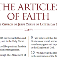 Articles of Faith [Mormon Scripture]