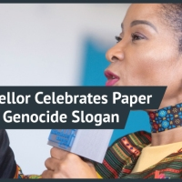 UCT Vice Chancellor, Mamokgethi Phakeng, Celebrates Black Student's Thesis Ending with White Genocide Slogan
