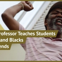 Black UCT Professor, Lwazi Lushaba, Teaches Students that Blacks and Whites Can't Be Friends